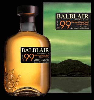Balblair 1999 Vintage 2nd Release available from Whisky Please.