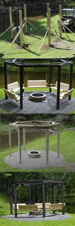 Build An Amazing Fire Pit In Your Garden