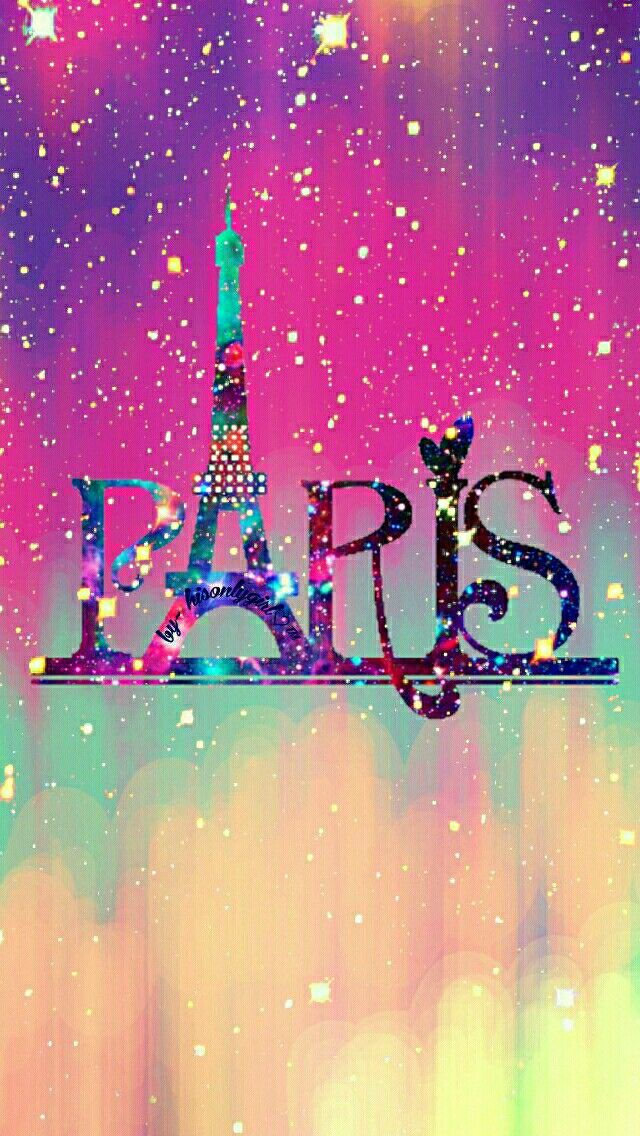 Paris grunge galaxy wallpaper I created for the app CocoPPa.