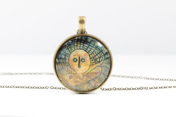 Lockets – Head Necklace [Cave Art Collection] – a unique product by Art-Of-Nature on DaWanda