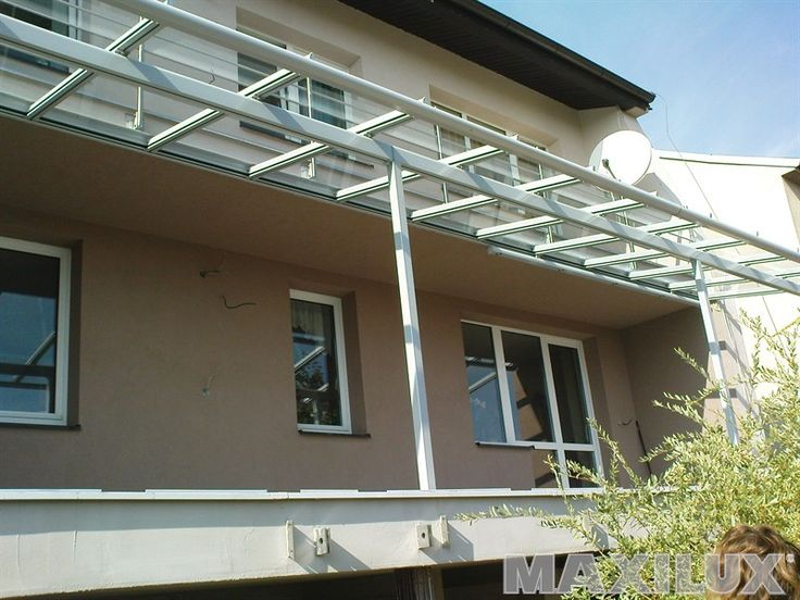 Hliníkové zastřešení balkónu
