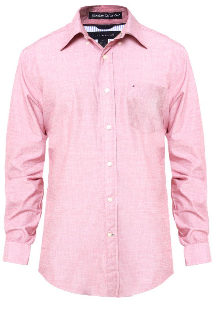 Camisa Tommy Hilfiger Stone Vinho - Compre Agora | Dafiti Brasil
