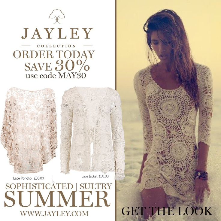 """JAYLEY on Twitter: """"#summer #crochet #ponchos #wraps #kaftans #save 30% now MAY30 checkout valid until 13 May https://t.co/vyoW63mbIj https://t.co/evBAJYmFGG"""""""