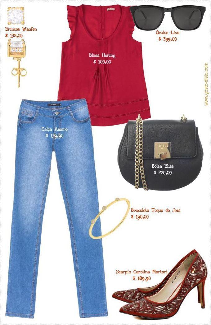 Como usar jeans no trabalho - Estilo Reese Whiterspoon