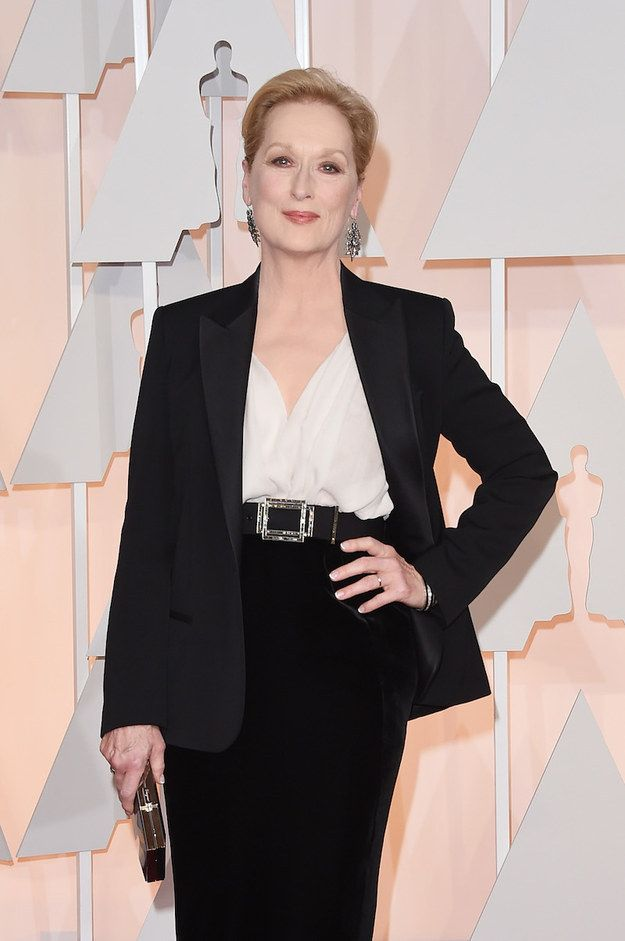 You obviously know Meryl Streep: Actress, humanitarian, goddess, living proof that perfection exists.