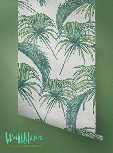 Tropical Pattern Wallpaper - Exotic Removable Wallpaper -... https://www.amazon.com/dp/B019C9D1N2/ref=cm_sw_r_pi_dp_k7-CxbEXHS4PP