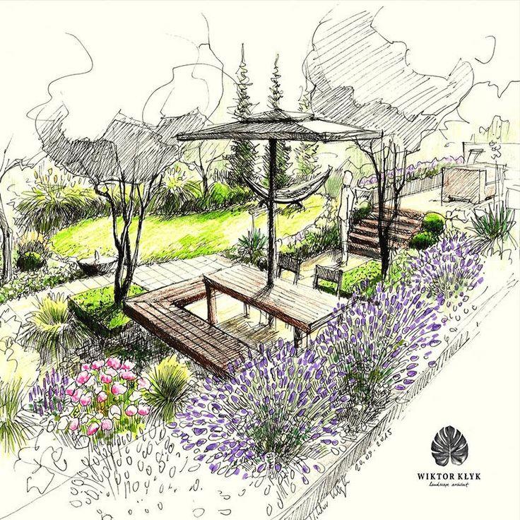 Landscape Design Structure: Projektant Ogrodów Wiktor Kłyk Zaprasza Do Zapoznania Się