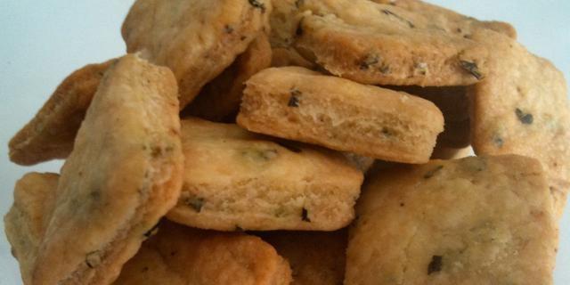 The Perfect Balance - zelfgemaakte crackers
