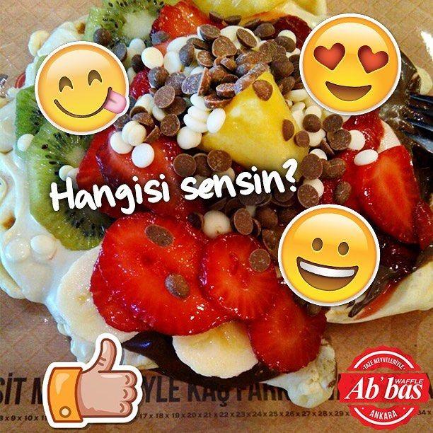 Waffle deyince senin tepkin ne? Kendi ifadeni yorum olarak paylaş! #AbbasWaffleAnkara