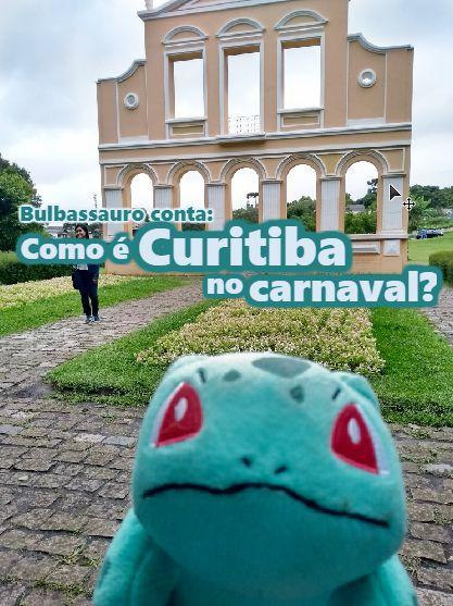 Como é Curitiba no carnaval? Tudo fecha? Tem folia? O clima é agradável ou não tão convidativo? O #bulbassauro conta, de acordo com a experiência que acabou de ter em #Curitiba. Na foto: o #bosque alemão, um dos muitos parques bonitos da cidade. #Paraná #carnaval #sossego #parques #pokemon #frio