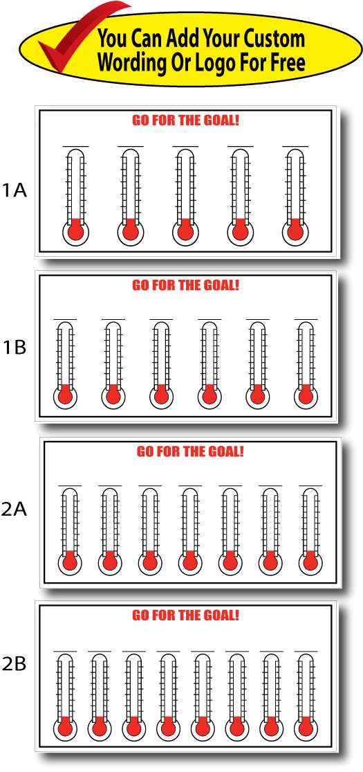 1000+ images about Fundraising Thermometers and Goal ...