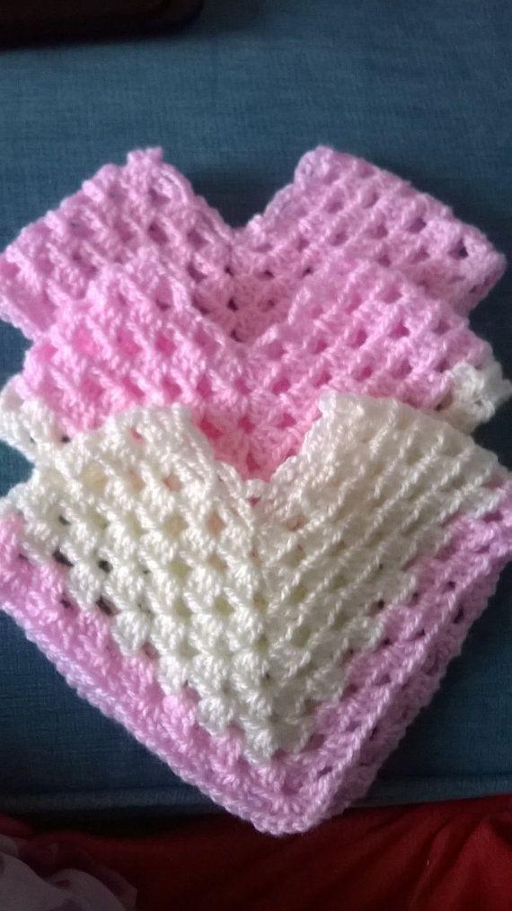 Crochet Baby Girl Poncho Crochet Baby Girl by MistyMakesForYou