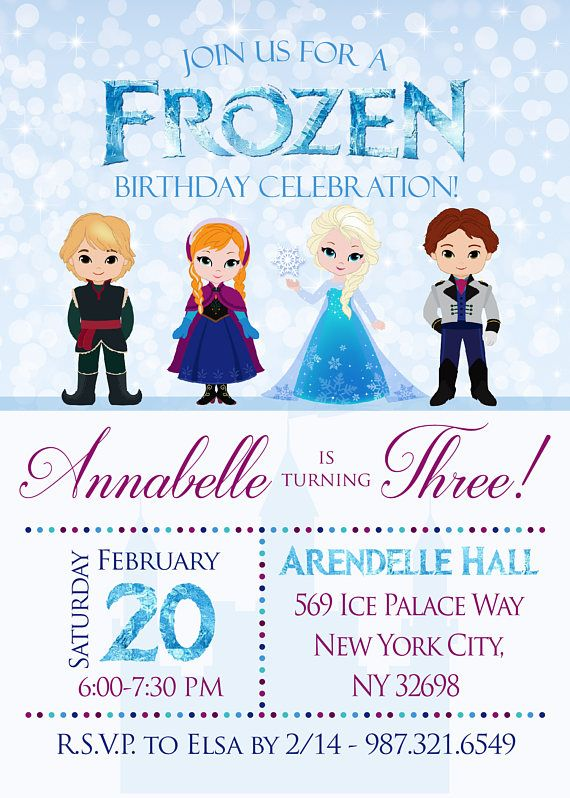 NAME 1st 2nd 3rd 4th Personalised Frozen Princess Elsa Birthday Card ANY AGE