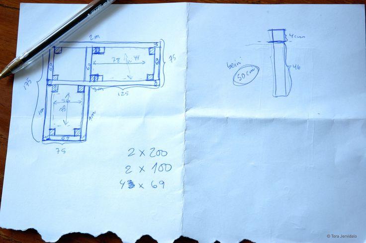 Bygg en utesofa; Slik gjør du det!