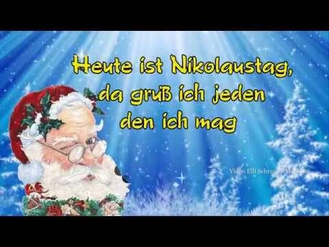 Nikolaus Ist Da Greetings For St Nicholas Day 6 Dezember Nikolausgrusse Youtube Nikolaus Lustig Nikolausgrusse Nikolaus Spruch