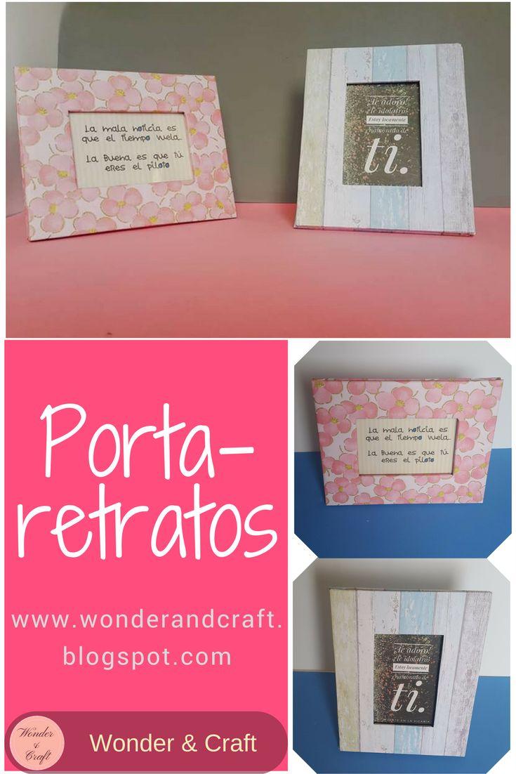 DIY: Como hacer porta retratos de cartón súper fáciles  ¿Como hacer estos portaretratos? #DIY #manualidades #portafotos #portaretratos #portaretratofacil #marco #marcodefotos #portaretratodecarton