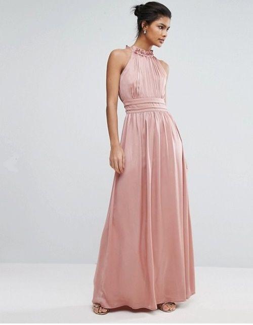 Rosa maxi dress. Wedding Guest Dress. Trends SS 2017