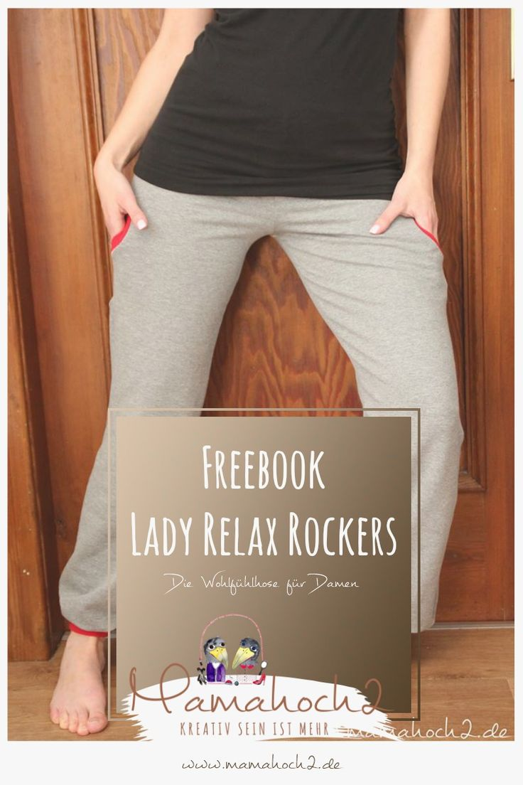 Freebook Lady Relax Rockers – Nähanleitung Jogginghose