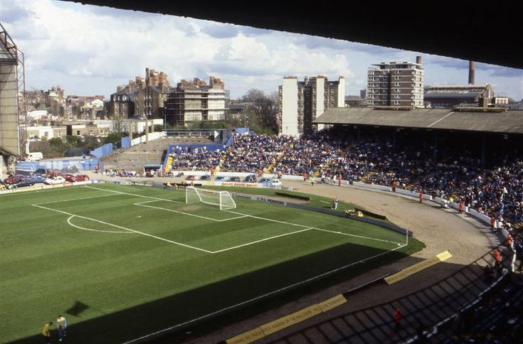1992: The Shed End at Stamford Bridge.