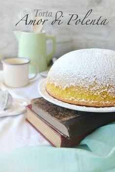 Ricetta Torta Amor di polenta... A parte montiamo il burro con lo zucchero a velo e il miele,lavoriamo fino ad ottenere una massa chiara e spumosa