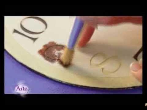Cómo hacer un reloj con diversos materiales- 3ra parte