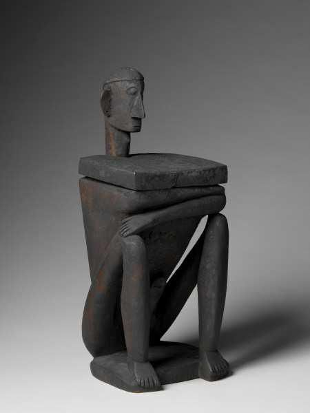 Black - figurative - sculpture - Exposition Philippines, Archipel des échanges - Musée du Quai Branly - Jacques Chirac