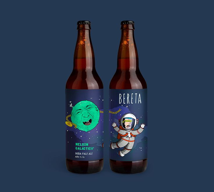 Label designs for a small craft-brewery from Timisoara, Romania called BeretaTM. They come from a city where a revolution started total down the communist party and now these four guys from Bereta want to start a revolution in the brewing industry by crea…  label design by #dushky | #art #illustration #drawing #label #design #bereta #beretatm #aipiiei #craft #beer #logo