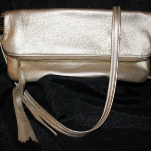 Genuine Leather Purse - Lily Foldover Messenger bag. More on website!