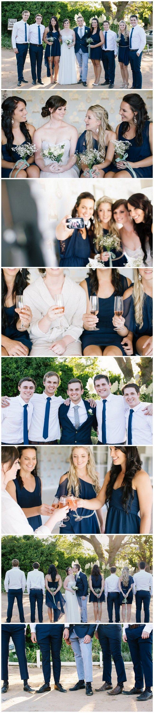 Navy Blue Bridal Party Ideas / Marli Koen Photography http://www.confettidaydreams.com/navy-grey-wedding-at-kronenburg/