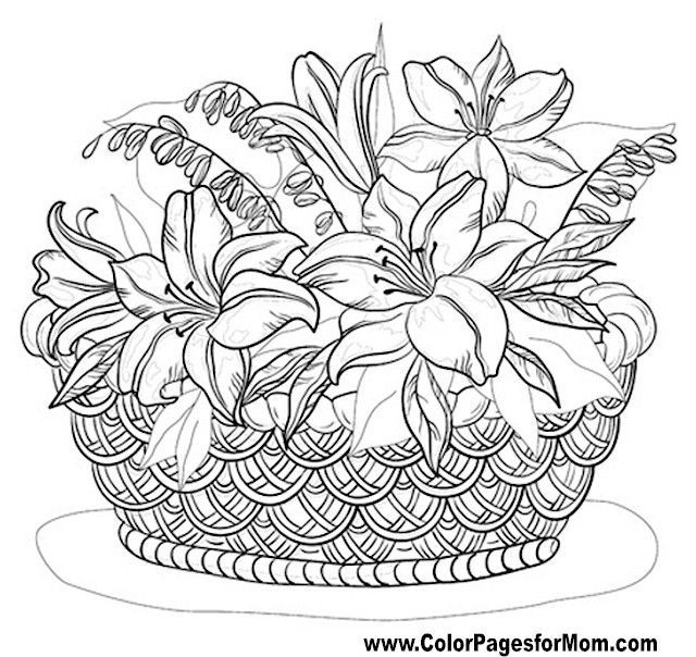 40 best Adult ColouringFlowers images on Pinterest Adult