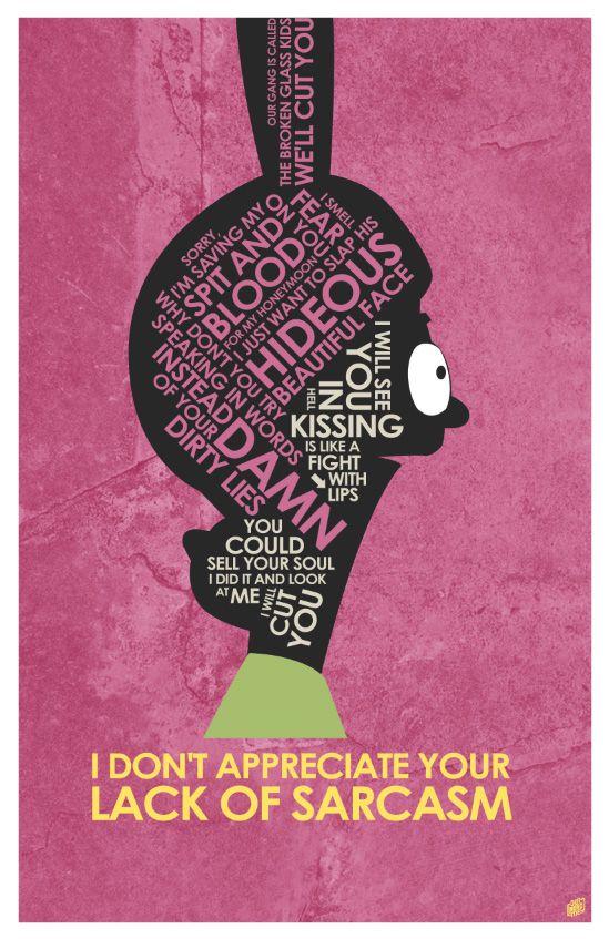 Bobs Burger - Louise Belcher Quote Poster #bobsburgers #louisebelcher