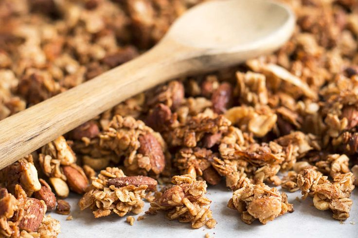 Big Cluster Toffee Nut Granola | Gluten Free with L.B.
