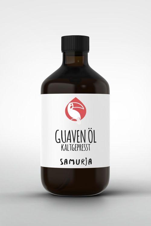 Guava-Öl - Adstringierend, gut als Basis in Feuchtigkeitscremes und Nacht-Seren und nicht komedogen mit guter antimikrobiologischen Wirkung #Wirkstofföle #Guava #Guaven #Öl #Amazonas #Rohstoffe