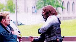 I would be lying if I said I didn't love Bucky's fighting style