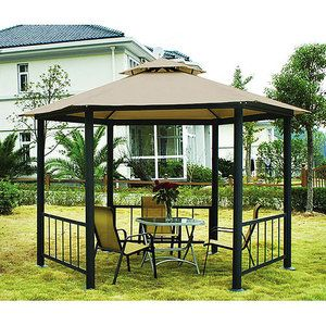 Victoria Canopy Gazebo With Side Panels and Netting - $599