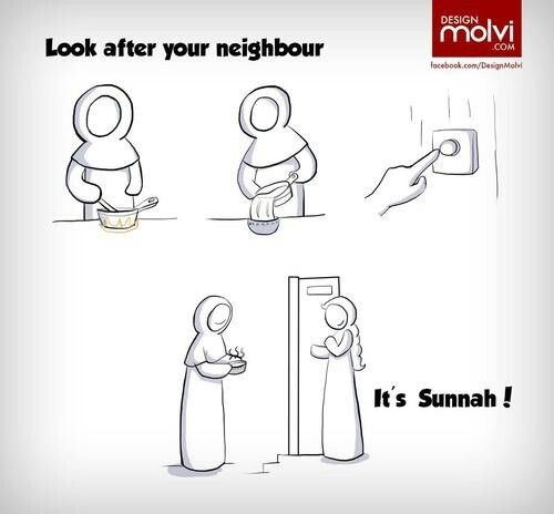 Take care of ur neighbours!