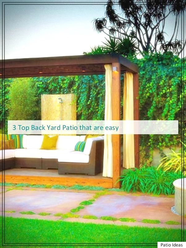 great Brilliant Backyard Patio and Deck Landscape pointers for your
