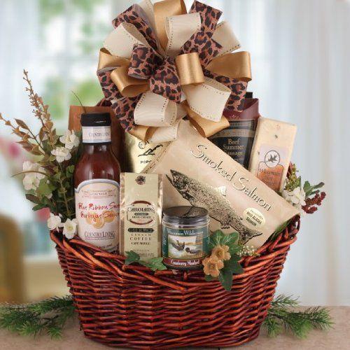 Savory Delights Men`s Gourmet Food Gift Basket for Him | Gift for Men, Husband or Father