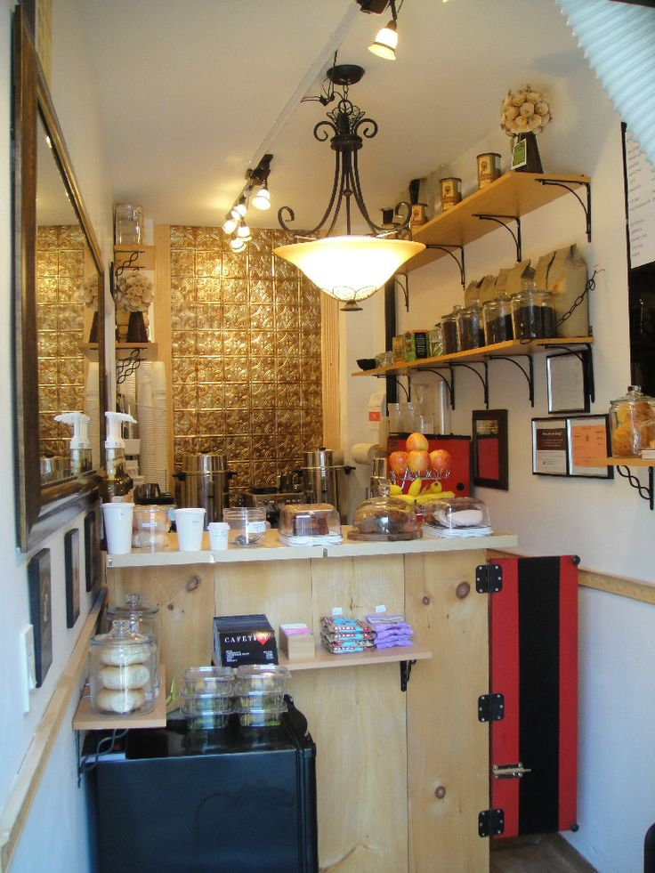 45 best tiny cafe interior images on pinterest coffee for Small cafe bar design
