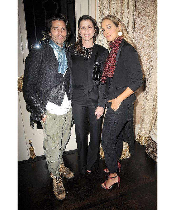 """Co-authors Bridget Moynahan and Wendy Howard Goldberg celebrated the launch of """"The Blue Bloods Cookbook"""", a tome featuring over 100 recipes inspired by hit CBS police drama """"Blue Bloods."""" Pictured here: Greg Lauren, Bridget Moynahan, Elizabeth Berkley."""