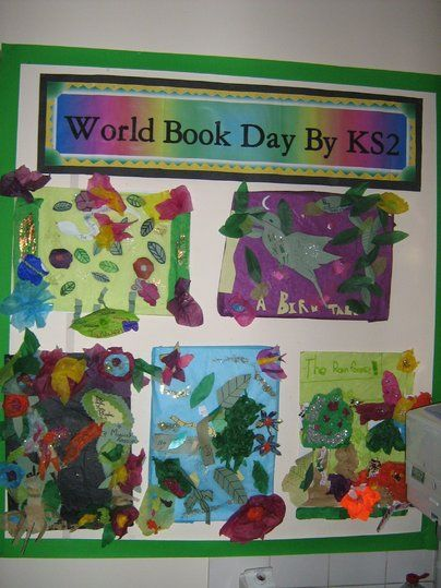 Classroom Ideas For World Book Day ~ World book day display classroom class