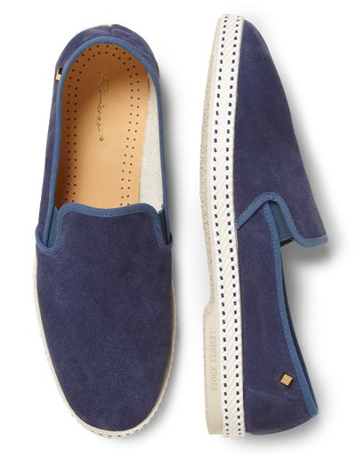 GQ Selects: Riverias Suede Slip-Ons