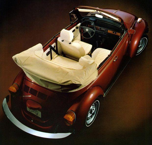 1978 VW Super Beetle Cabrio