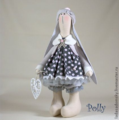 Toy animals, handmade. Fair Masters - handmade bunny Polly. Handmade.