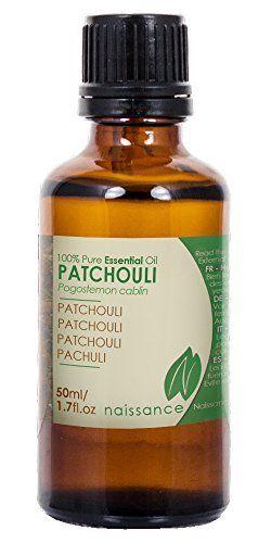 Naissance Huile Essentielle de Patchouli 100% pure – 50ml: Sensuelle et stimulante Aide le pied d'athlète, acné, peau gercée, eczéma et…
