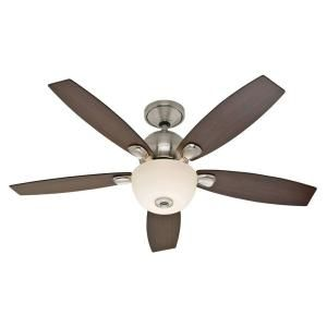 Skyline Brushed Nickel Ceiling Fan 28704 At The Home Depot $170
