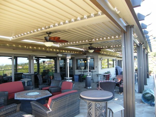 Charming Equinox Louvered Roof Patio Cover Design And Installation Project