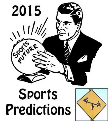 2015 Sports Predictions has the Top Draft pick with the best New Year #HappyNewYear #sports #debate