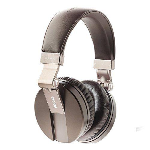 Focal Spirit Classic Over-Ear Closed Back Circumaural Hi-Fi Headphones (Brown)