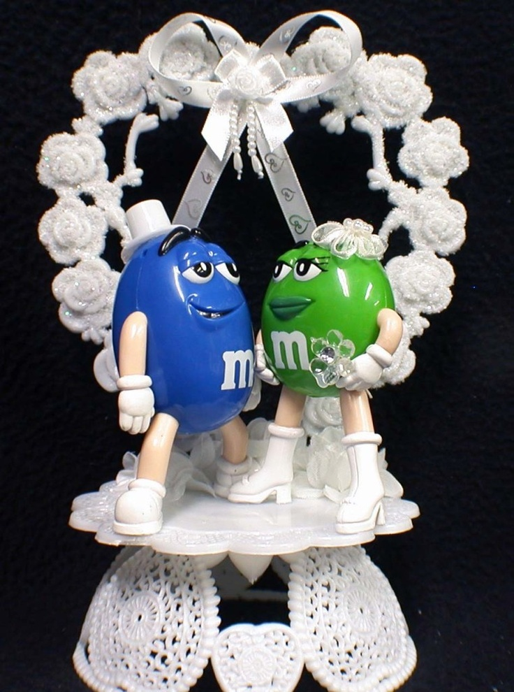 m s wedding cake toppers 29 best m amp m s images on m s candies and 17647